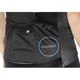 Shimano Breakaway Print Short Sleeve Jersey Men Black